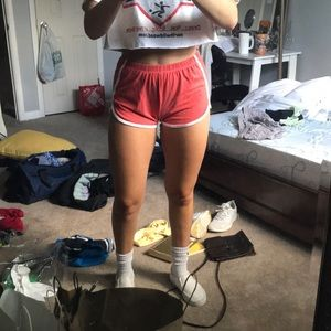 Brandy Melville red shorts